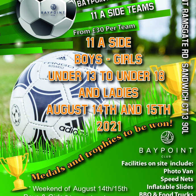 Football Tournament - 14th and 15th August - 11aside
