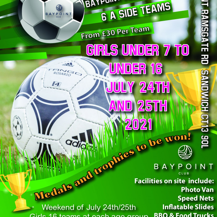 Football Tournament - 24th and 25th July - Girls