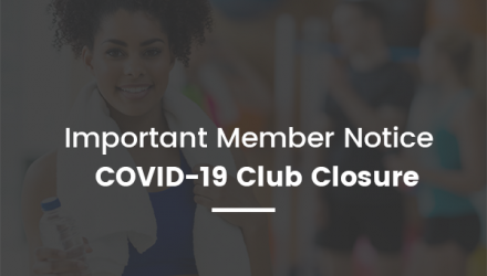 Covid-19 Update - Temporary Club Closure